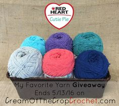 My Favorite Yarn Giveway with Red Heart Yarns Preemie Crochet, Free Crochet, The Lavender Chair, Crochet Projects, Crochet Crafts, Pattern Library, Red Heart Yarn, Love Craft, Knitting Designs