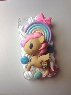 Tokidoki unicorn decoden iPhone 4/4s case  by JemDeco on Etsy, $39.45