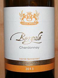 Villa Melnik Begulé Chardonnay, houtgerijpt.