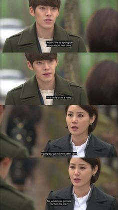Choi Young Do And Kim Tan's Omoni ❤💞 THE HEIRS You're Beautiful Quotes, Beautiful Words, Kim Woo Bin, Park Shin Hye, The Heirs, Lee Min Ho, Singing, Drama, Movie Posters