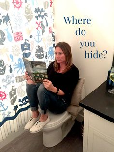 Hey Moms: Where do you hide? AD #chillhard