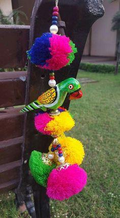 Jwellary Henna Designs For Kids, Janmashtami Decoration, Rakhi Design, Saree Tassels, Diwali Craft, Thread Bangles, Diwali Decorations, Fabric Jewelry, Jewelry Patterns