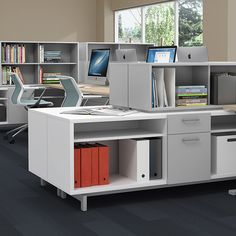 Ultra flexible and ultra durable, Zo storage is endlessly configurable with a wide variety of standard finishes. And Zo can be used with virtually any desking solution, making it the perfect fit for any workplace.