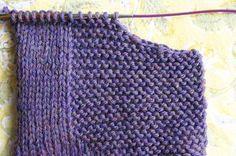 Cast off - Tanpopo - Knitting 02 Knitting Paterns, Knitting Stitches, Knitting Projects, Crochet Patterns, Knitting For Kids, Knitting For Beginners, Baby Knitting, Tricot Baby, Crochet Instructions