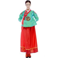 韓国の韓服のドレス 民族衣装 韓国伝統の韓服の服 大長今の衣装_0