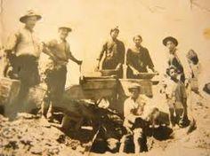 Los lavaderos de oro del año 30 en Andacollo
