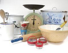 Vintage kitchenalia from www.yourvintagelife.co.uk