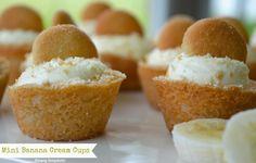 Mini Banana Cream Cups |Simply Simplistic