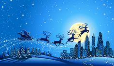 Santa Claus rides in a sleigh vector. Description from dreamstime.com. I searched for this on bing.com/images