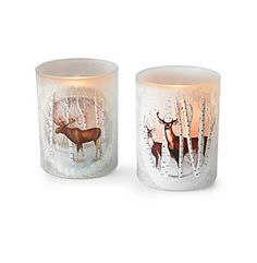 LivingQuarters Glitter Animal Votive at www.herbergers.com