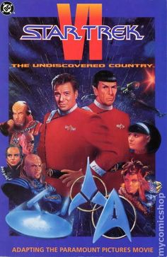 Star Trek Movie Special VI The Star Trek Movie Special VI The Undiscovered Country 1991 comic
