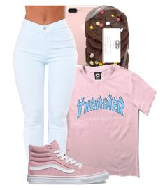 Jessmurayy by babygirlkikig on Polyvore featuring polyvore fashion style WithChic Vans clothing