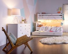 Bunk & loft beds for kids. A perfect backdrop for any child's style, the streamlined bunk bed design can transition and transform with the changing tastes of growing kids. Kids Bedroom, Dream Bedroom, Master Bedroom Interior, Bedroom Decor, Bunk Bed With Trundle, Full Bunk Beds, Modern Bunk Beds, Writing Desk, Bed Frame