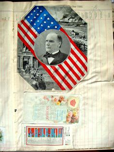 instant antique art- Victorian scrapbook pages on etsy