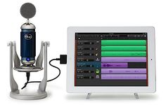 Blue Microphones - Spark Digital Studio Condensor Mic - Apple Store (U.) A professional-quality USB mic, this digital version of Blue Microphones' renowned Spark mic is the first studio-grade microphone for the iPad. Cool Technology, Technology Gadgets, Tech Gadgets, Iphone Gadgets, Mobile Gadgets, Digital Review, Digital Audio, Audiophile Headphones, Tecnologia
