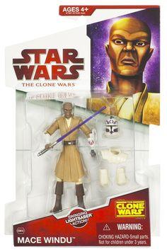 2009 Clone Wars Carded Mace Windu