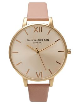 Olivia Burton Big Dial Watch - Gold
