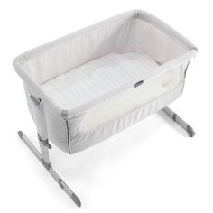 *MUST BUY! Chicco Next 2 Me Bedside Crib - Silver