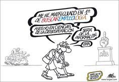 Licenciado en empleología - #Humor #Empleo #Forges :-)