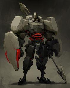 ICHIDO Heavy armor guard by ~Reza-ilyasa on deviantART via PinCG.com