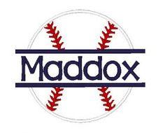 All Designs :: Split Baseball