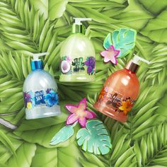 Trust us: your hands will go cocoNUTS for NEW coconut milk Hand Soaps!