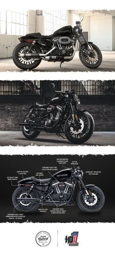 Garage-built custom style to shatter every mold. | 2017 Harley-Davidson Roadster