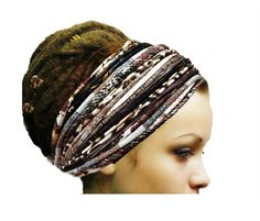 Check out this item in my Etsy shop https://www.etsy.com/listing/496628497/dreadlock-accessories-brown-autumn