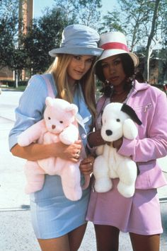 • Clueless fashion stacey dash dionne davenport rachel blanchard cluel- Fashion Guys, School Fashion, Grunge Fashion, 90s Fashion, Fashion Outfits, Kawaii Fashion, Cher Clueless Outfit, Clueless Fashion, 90s Outfit