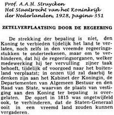 Oud krantenbericht over de Illegale troonbezetting van het koningshuis!!!