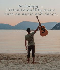 Whether it's because you get creative or just love playing beautiful music, you can't deny the happiness your guitar makes you feel. Play Quotes, Dance Quotes, Dance Humor, Music Humor, Listening To Music, Singing, Wallpaper Iphone Quotes Songs, Instagram Bio Quotes, Guitar Quotes