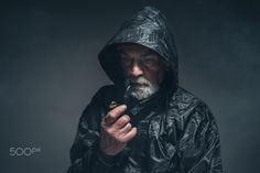 Pensive Adult Man in Jacket with Cigarette Pipe by Ysbrand Cosijn on 500px