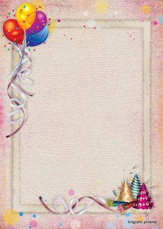 Karnawał 02 Ramka PSD [projekt wielowarstwowy] Happy Birthday Frame, Birthday Frames, Happy Birthday Greetings, Birthday Wishes, Kindergarten Portfolio, Loteria Cards, Cupcake Art, Butterfly Art, Origami