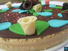 La Juani de Ana Sevilla: Flores de chocolate