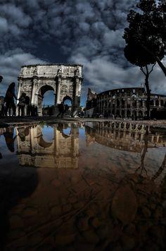 I love the rain when it stop in Rome by Alice T., via 500px