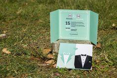 Cards Against Humanity, Link, Chalkboard Invitation, Giant Letters, Invitations, Elegant
