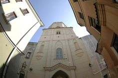 "Lublin w ""rybim oku"" / City of Lublin (Poland) in the ""fish eye"""