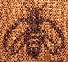 Sampling for a Summer & WInter Blanket Loom Weaving, Tapestry Weaving, Hand Weaving, Knitting Stitches, Knitting Designs, Winter Blankets, Bee Art, Weaving Projects, Chart Design