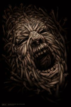 SOCIETY by Anton Semenov, via Behance