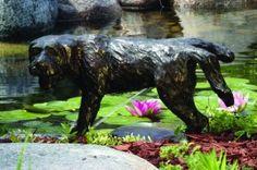 Peeing Dog Fountain