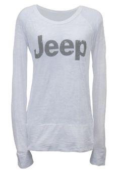 Loooove this Jeep swag! Lol... Ladies' Burnout Long-Sleeve Tee