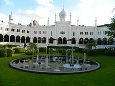 Great Palace in indian style. Copenhagen, Palace, Indian Style, Mansions, House Styles, Fun, Travel, Home Decor, City