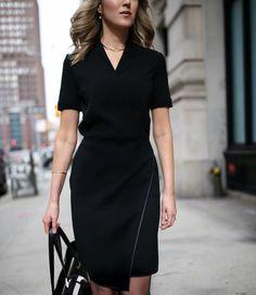 mm-lafleur-work-wear-professional-attire-working-women-classic-black-sheath-dress-camel-coat-silk-scarf7