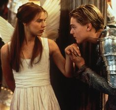 Most recently, Romeo + Juliet was adapted into a film starring Leonardo DiCaprio and Claire Danes (and directed by Baz Luhrmann). Leonardo Dicaprio Romeo, Baz Luhrmann, Romeo And Juliet Leonardo, Romeo And Juliet Facts, Romeo Juliet 1996, Cosmopolitan, Juliet Movie, Romeo Und Julia, Romeo Y Julieta
