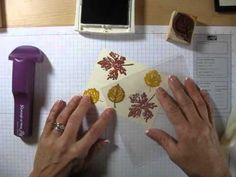 ▶ Stampin 101 Two step stamping frenchiestamps.com - YouTube