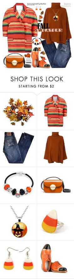 """Fall Sweaters Casual Style"" by ellie366 ❤ liked on Polyvore featuring Improvements, Stella Jean, Levi's, Joseph, Bling Jewelry, Marni, Maison Margiela, casual, stripes and waystowear"