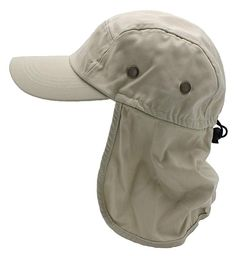 aada0eaf961 Top Level Fishing Sun Cap UV Protection - Ear and Neck Flap Hat