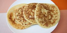 PANCAKES CU GRIS (FARA OU) Baby Food Recipes, Cooking Recipes, Toddler Meals, Toddler Food, Food To Make, Pancakes, Food And Drink, Vegan, Healthy