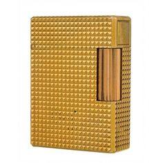 ENCENDEDOR S.T. DUPONT Encendedor Dupont chapado en oro.