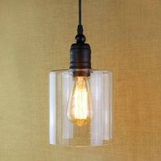 Cheap Industrial Mini-Pendant Light with Cylindrical Shade